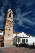 Torre y reloj de la Iglesia Fontanars