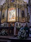 Altar principal de la Iglesia Parroquial dedicado a la Virgen de la Paz en Villar de el Arzobispo
