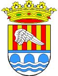 Escudo representativo de Alcántara de Júcar
