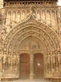 Detalle de la Portada de la Iglesia de Santa María, Requena