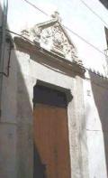 Portal de la Casa de Santa Teresa en Requena