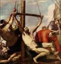 Crucificcion de Cristo por Ribera, Valencia