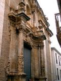 Portada de l'Església de Pedralba