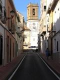 Calle Denia y Campanario