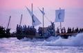 Desembarco pirata de los Moros y Cristianos en Villajoyosa