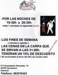 BAR EL RACONET (ofertas y descuentos por las noches)