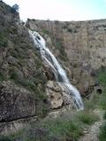 Vista de la histçorica presa de Tibi