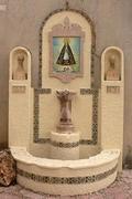 Imatge de la Mare de Déu en l'ermita de la Sang