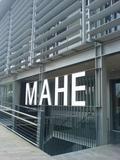 Entrada al museo Eche MAHE.