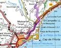 Rutas de accesos a Busot