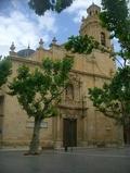 Fachada de la Basílica Nuesta Señora del Socorro en Aspe