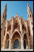 Fachada de la Iglesia de Novelda