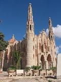 Iglesia Santa Maria Magdalena en Novelda vista desde el lateral