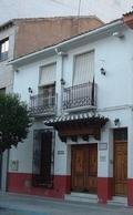 Vista de la entrada al Museo del escultor Navarro Santafé
