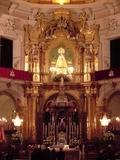 Interior de la Iglesia Arciprestal de Nuestra Señora de la Asunción,el Elche