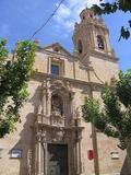 Basílica de Nuestra Señora del Socorro, en Aspe