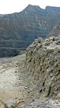 Detalle de la Sierra Fontcalent