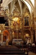 Detail of the main altar of the blessed church Marius