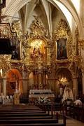 Detalle del altar principal de la Iglesia Santa Maria