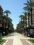 Recorrido por las ramblas y paseos de Alicante