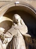 Escultura del Antiguo Palacio Episcopal de Alicante, Orihuela