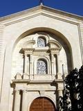 Fatxada de la parròquia nostra Senyora de Gràcia
