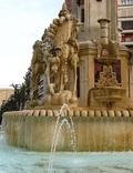 Fuentes destacadas de la ciudad de Alicante: Fuente de los Luceros