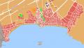 Mapa general de la localidad de Benidorm