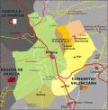 Vias de acceso a Cañada