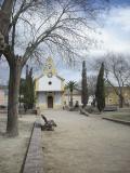 Ermita y plaza de la Colonia de Santa Eulalia