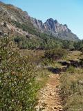 Sendes en la Serra Bèrnia