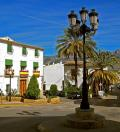 Plaza principal en el casco antiguo de Altea
