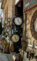 Tienda de relojes antiguos en Guadalest