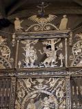 Detalle de las rejas de la Catedral de Orihuela