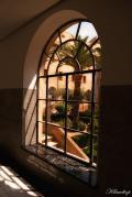 Ventana del Seminario de San Miguel en Orihuela