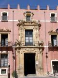 Fachada del Palacio de la Granja en Orihuela