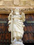 Escultura de la Iglesia Santiago en Orihuela