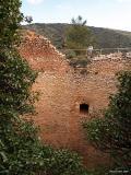 Construcciones en la Sierra el Manejador en el Parque Natural el Carrascal de Font Roja, Ibi