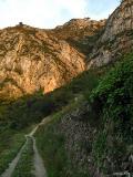 Trayectos de los senderos de Pedreguer