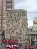 Escultura de la Plaza Santa Clara de Castellon