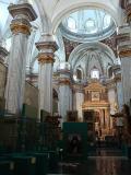 Interior del templo de la Iglesia arciprestal de San Jaime en Villareal
