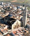 Vista de l'Església de Sant Joan Baptista en Alcalá de Xivert