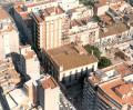 Vista aereai del Palacio episcopal de Castellon de la Plana