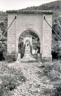 Puente colgante de Puebla de Arenoso