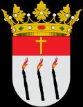 Escudo cuadrilongo de punta redonda de Artana