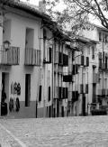 Carrer típic de la ciutat de Morella