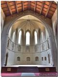 Vista desde el interior del Convento de los Farnciscanos en Morella