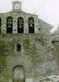 Facahada de la Iglesia antigua de Chert