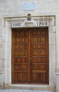 Portada de la Capilla de la Virgen de los Desamparados de Alcalá de Xivert
