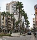 Calle Ferreres Bretó al centro de Benicarló